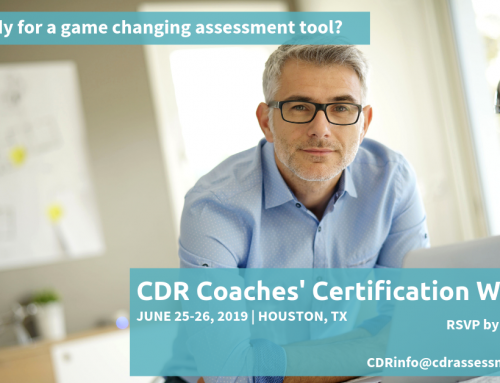June 2019 CDR Certification Workshop in Houston