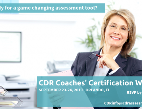 September 2019 CDR Certification Workshop in Orlando
