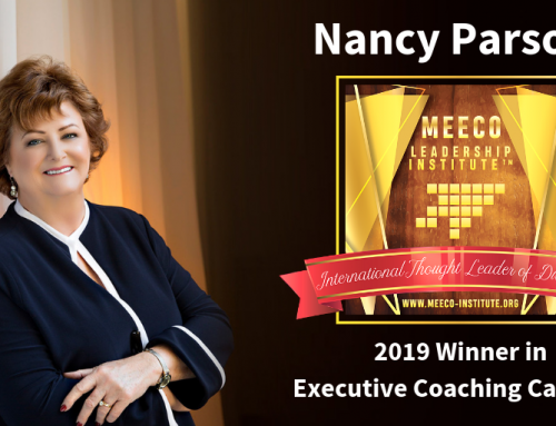 Nancy Parsons Wins Thought Leader of Distinction Award