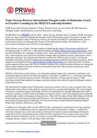 CDR Press Release 06-05-19