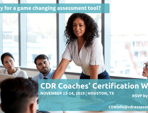 November 2019 CDR Certification Workshop in Houston