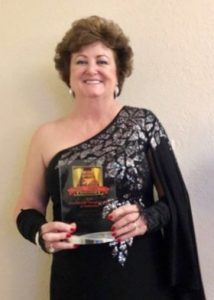 Nancy Parsons MEECO Leadership Conference - Accepting Award