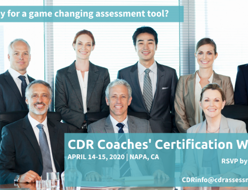 April 2020 CDR Certification Workshop in Napa