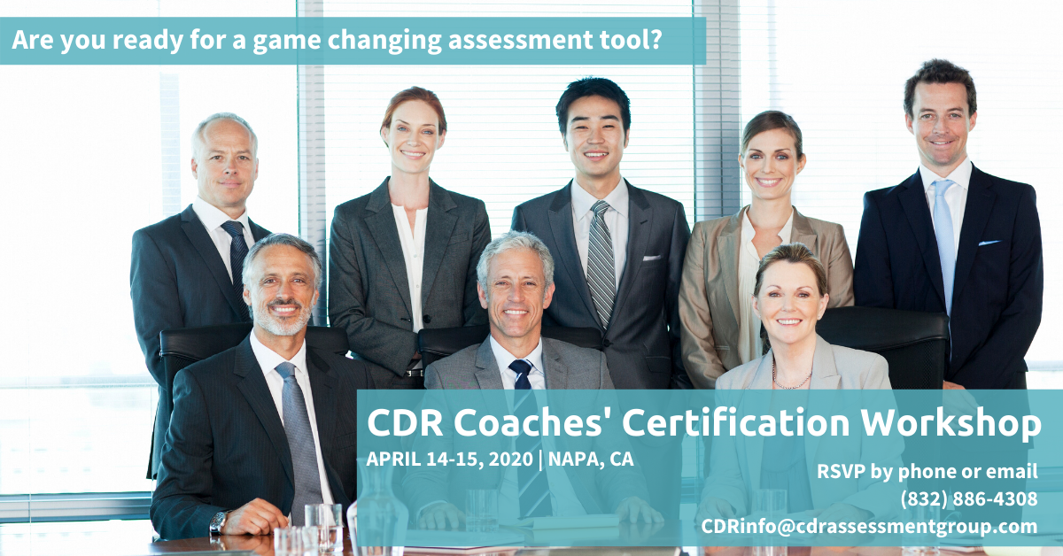 cdr coaches certification workshop
